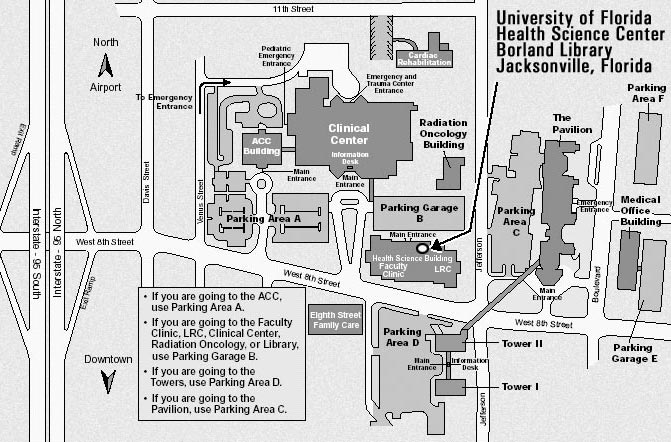 Borland Library static map